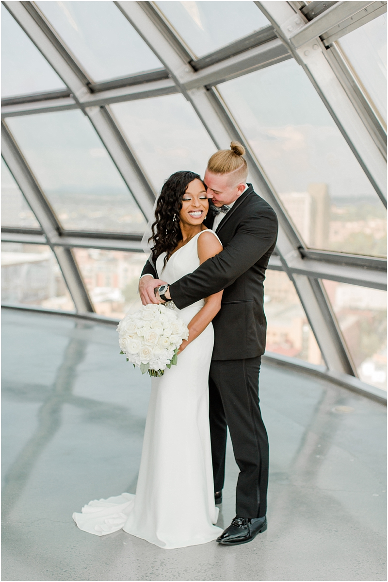 Sunsphere Knoxville Wedding Chase And Shante